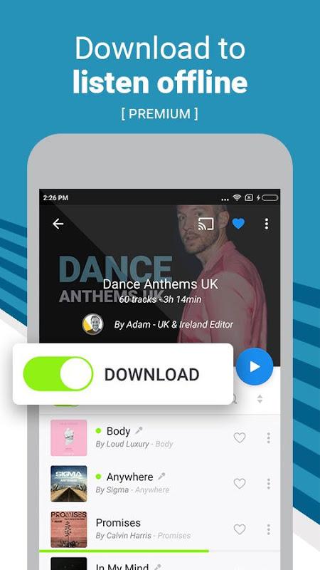 Deezer: Stream Music, Playlists, Albums & Songs 6.0.3.3 Screen 13