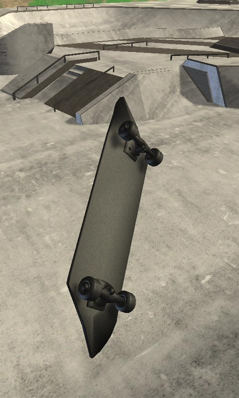 Android Real Skate 3D Screen 3