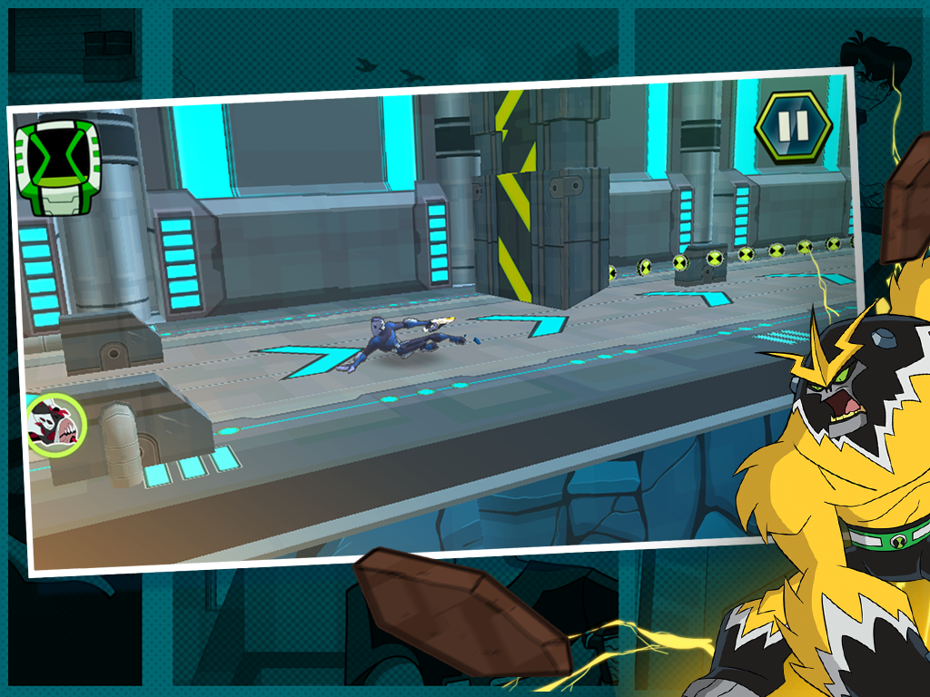 Android Undertown Chase - Ben 10 Screen 2
