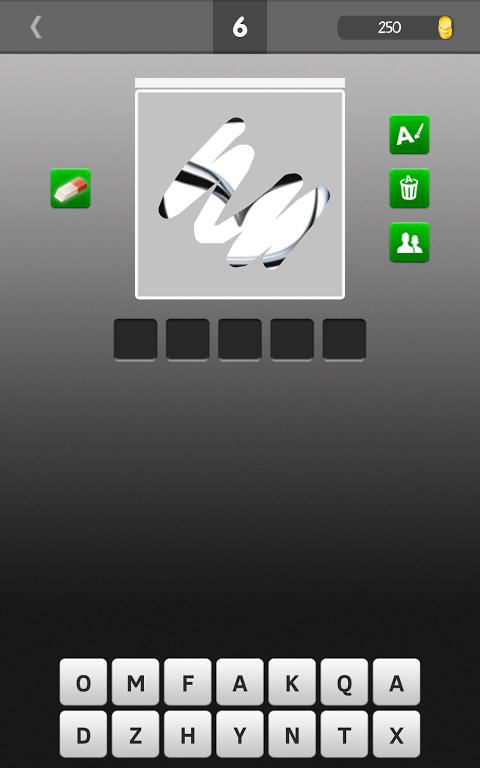 Android Scratch Car Logos Quiz Screen 4