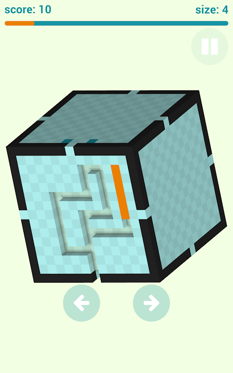 Android Voxel Snake 3D Screen 3