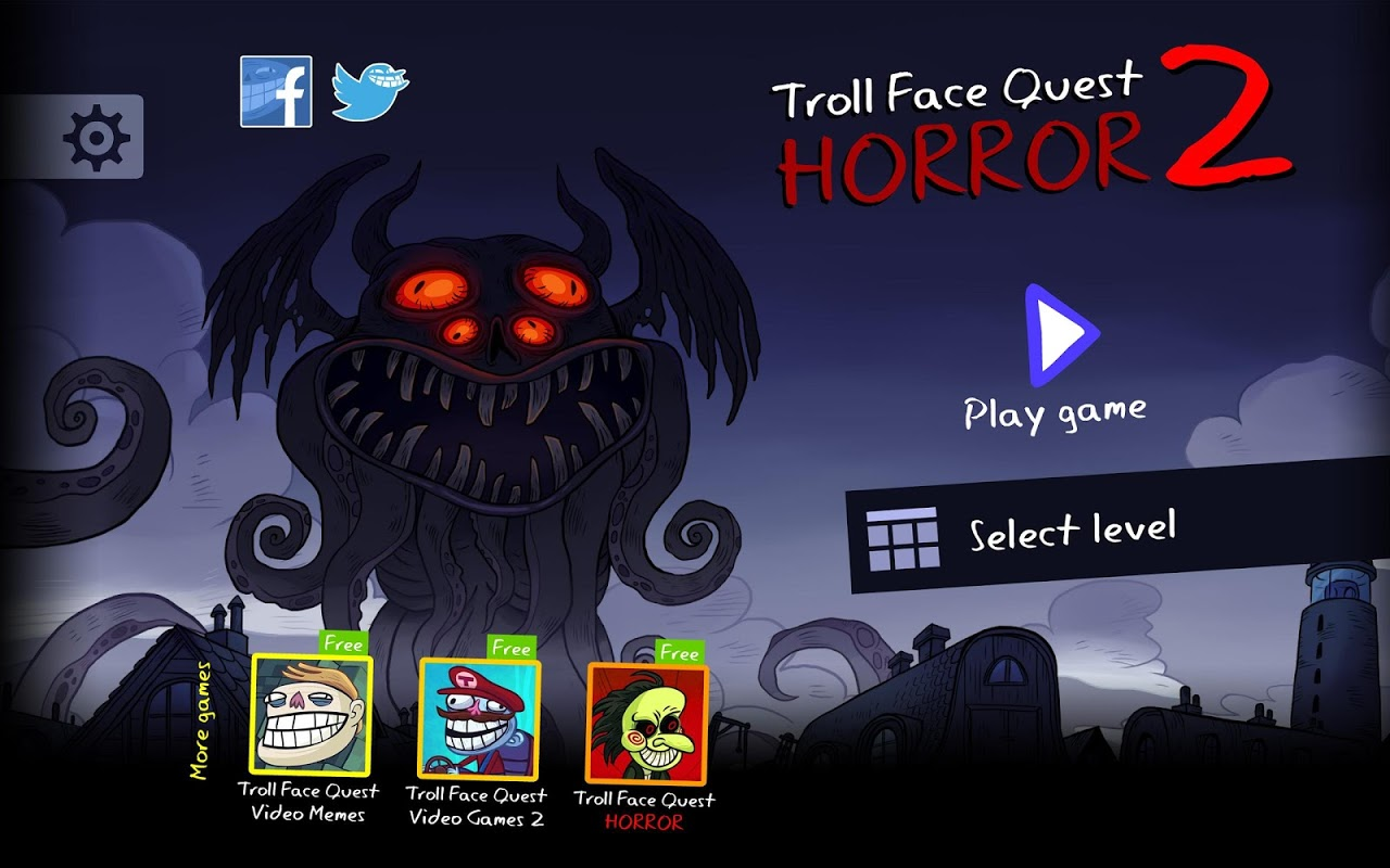 Android Troll Face Quest Horror 2: 🎃Halloween Special🎃 Screen 5