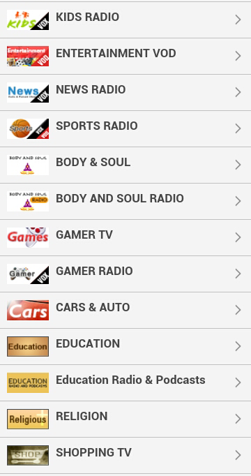 Android Watch Live TV Online Screen 3