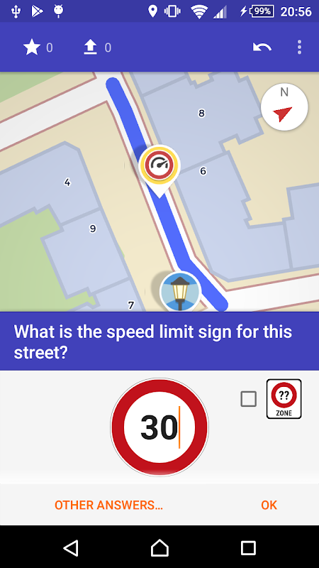 Android StreetComplete Screen 4