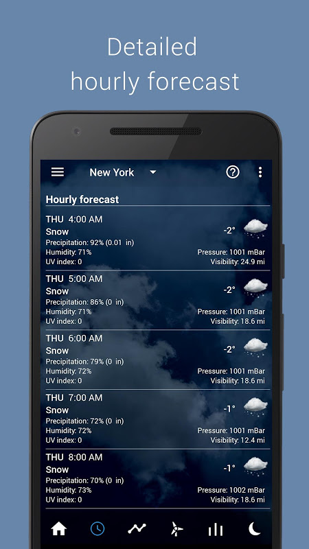 Android Transparent clock weather Pro Screen 13