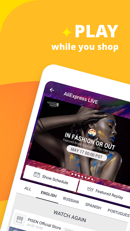AliExpress Shopping App- $100 Coupons For New User 7.4.1-playgo Screen 14