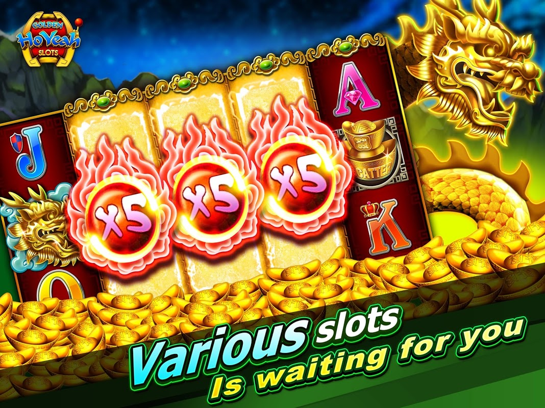Slots (Golden HoYeah) - Casino Slots 2.3.0 Screen 7