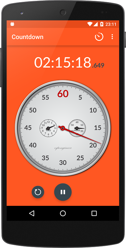 Chronometer 2.4 Screen 5