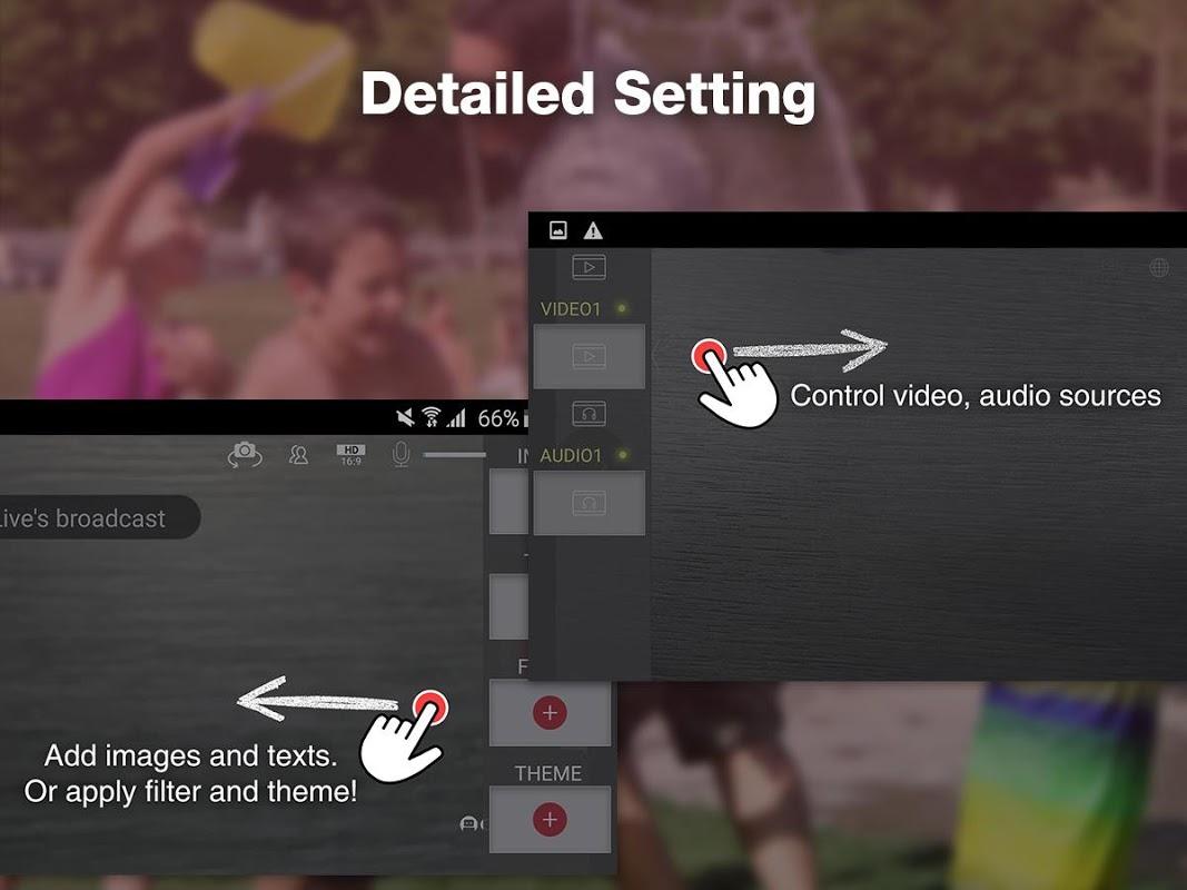 CameraFi Live 1.9.33.0928 Screen 1
