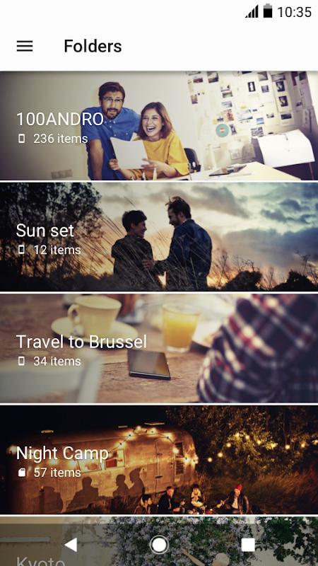 Android Album Screen 4
