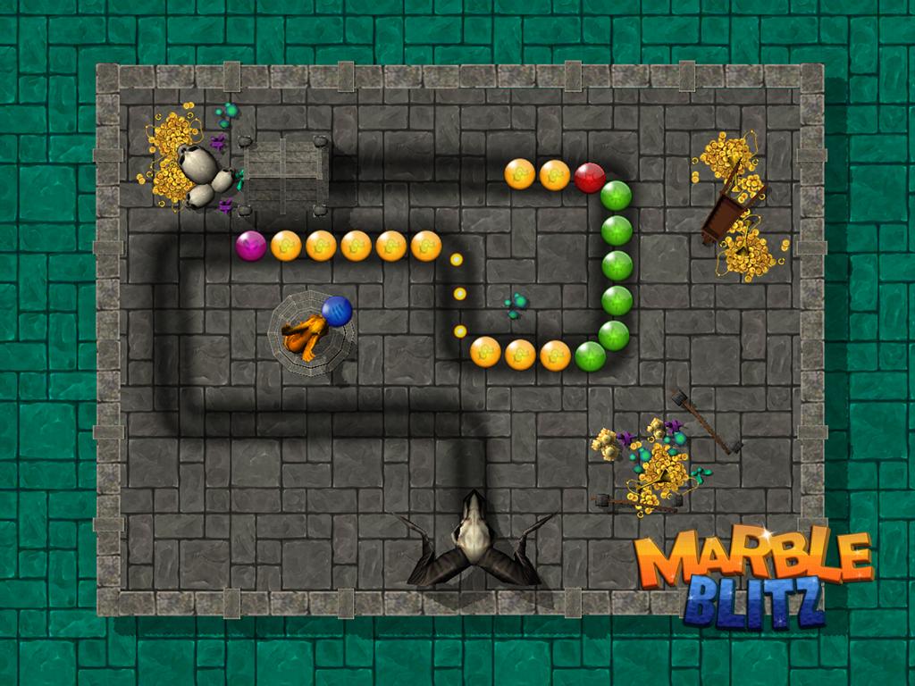 Android Marble Blitz Ball Blast Legend Screen 2