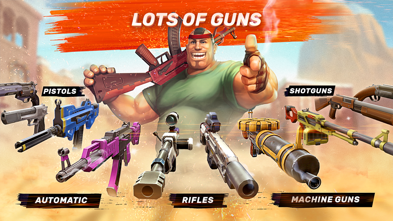 Android Guns of Boom - Online Shooter Screen 3
