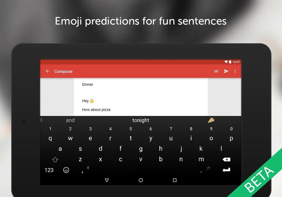 SwiftKey Beta 7.1.7.36 Screen 3