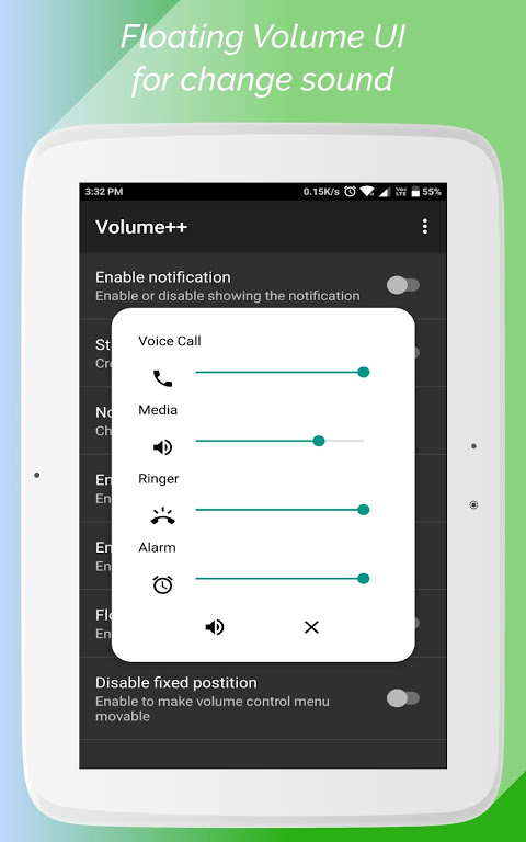 Android Volume++ (Change volume from Notification) Screen 5