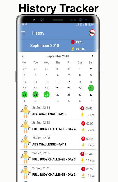 Home Workouts Gym Pro (No ad) 6.2 Screen 6