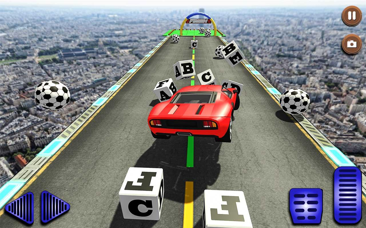 Android Superhero GT Racing Stunts Screen 1