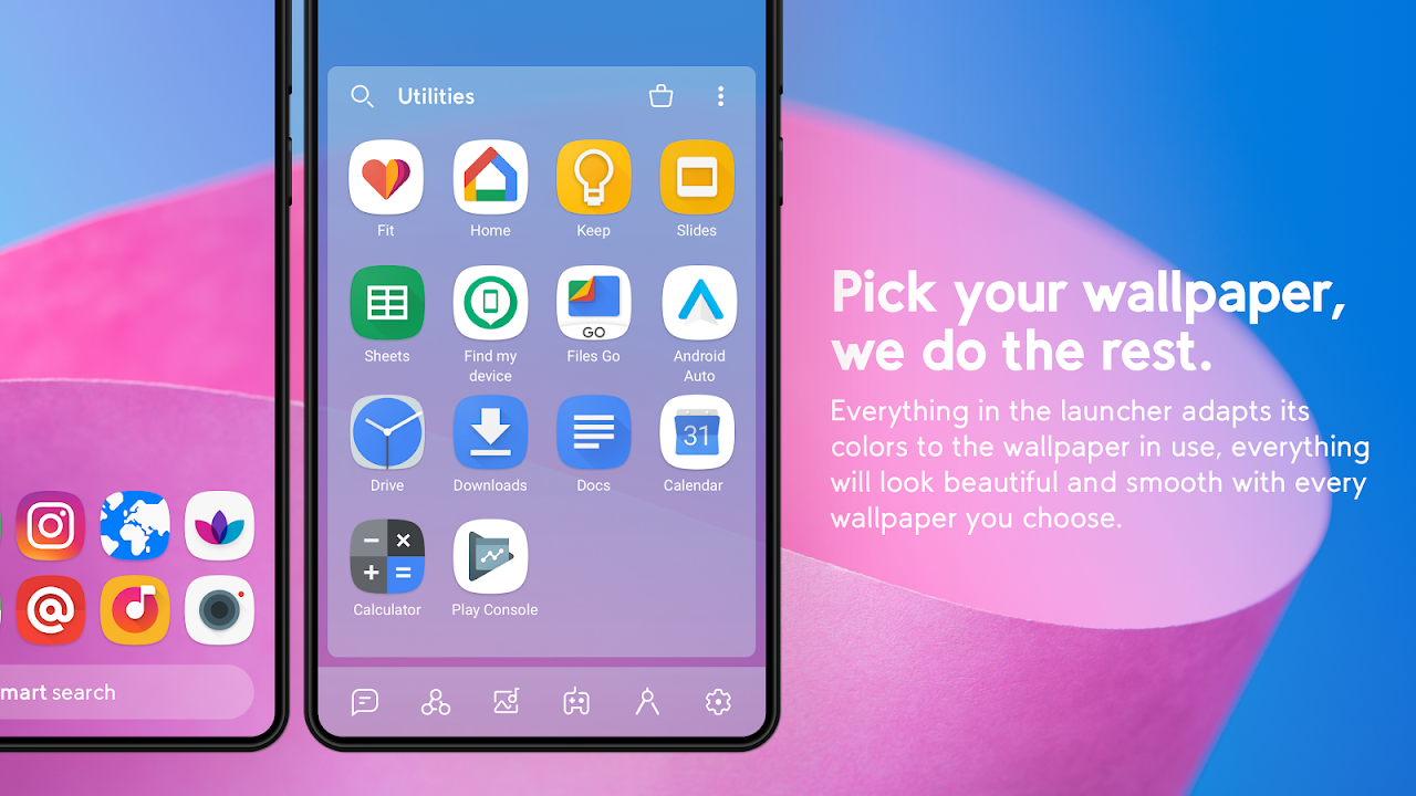 Android Smart Launcher 5 Screen 1