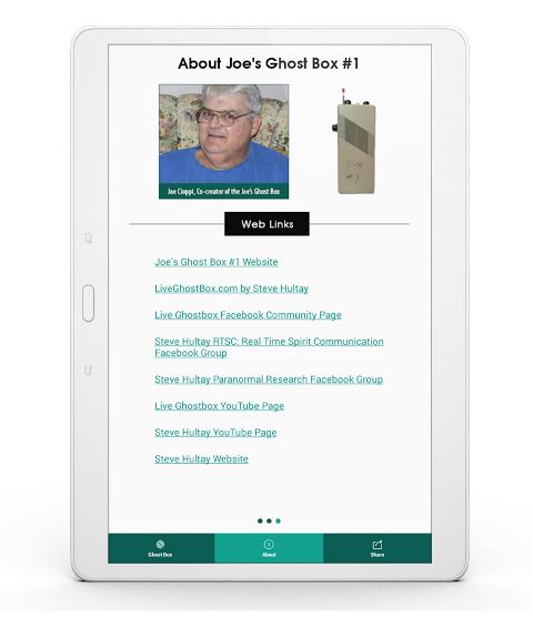 Joe's Ghost Box #1 2 0 7 2 APK Download by Steve Hultay   Android APK