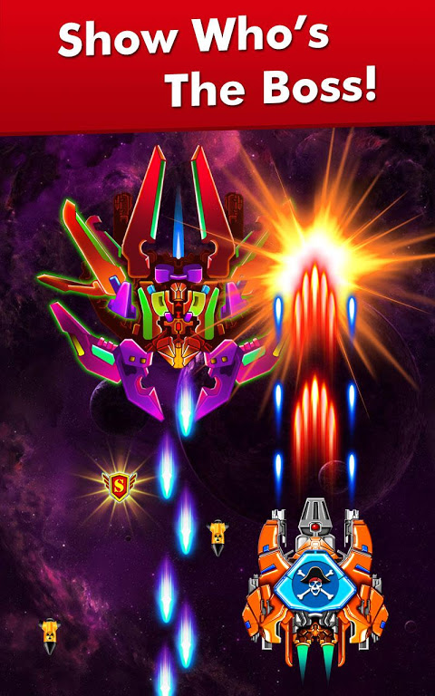 Galaxy Attack: Alien Shooter 7.13 Screen 10