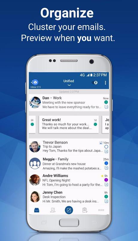 Blue Mail - Email & Calendar App - Mailbox 1.9.5.28 Screen 6