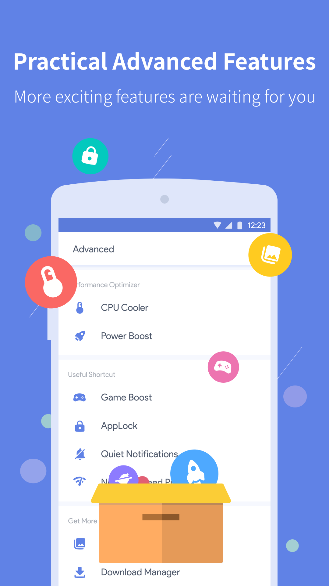 Power Clean -Phone Cleaner & Speed Booster Utility 2.9.6.9 Screen 2