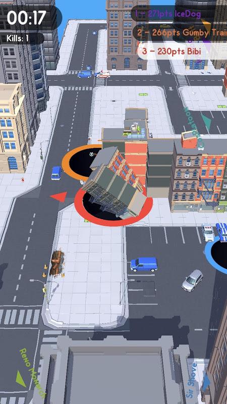 Android Hole.io Screen 3