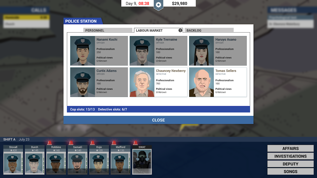 Android This Is the Police Screen 2