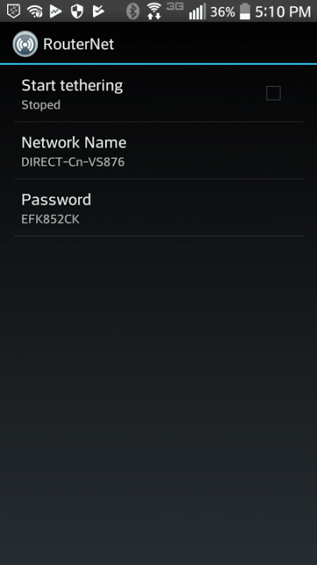 RouterNet-(new wifi hotspot)-wifi repeater 1.7 Screen 1