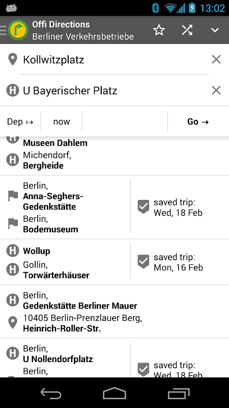 Offi - Journey Planner 10.1.4-google Screen 7