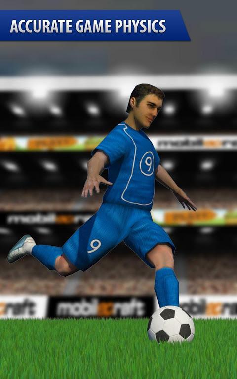 Android Flick Shoot (Soccer Football) Screen 1