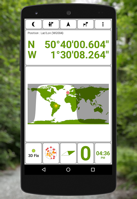 GPS Test 1.5.8 Screen 3