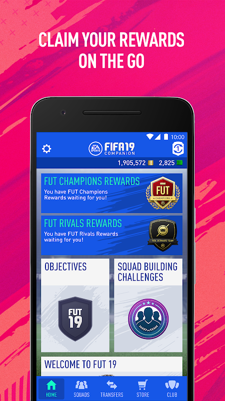Android EA SPORTS™ FIFA 18 Companion Screen 5
