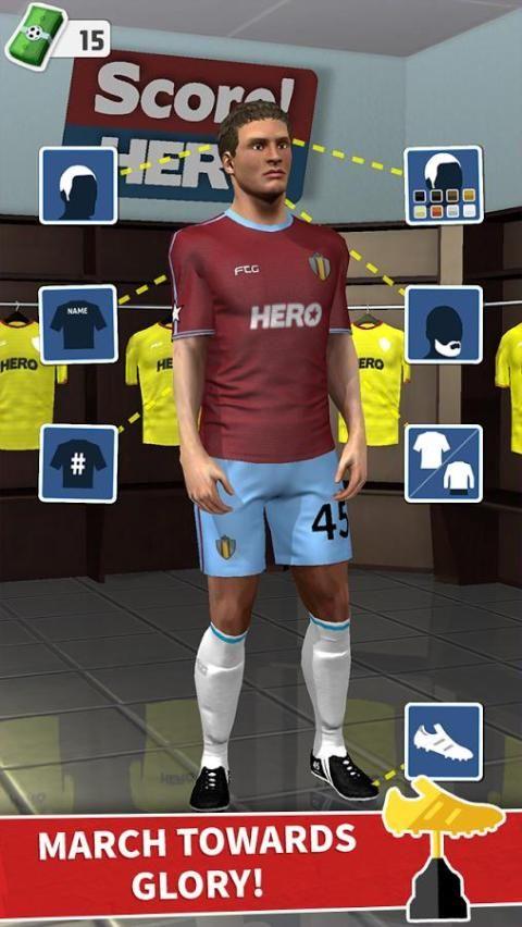 Android Score! Hero Screen 4