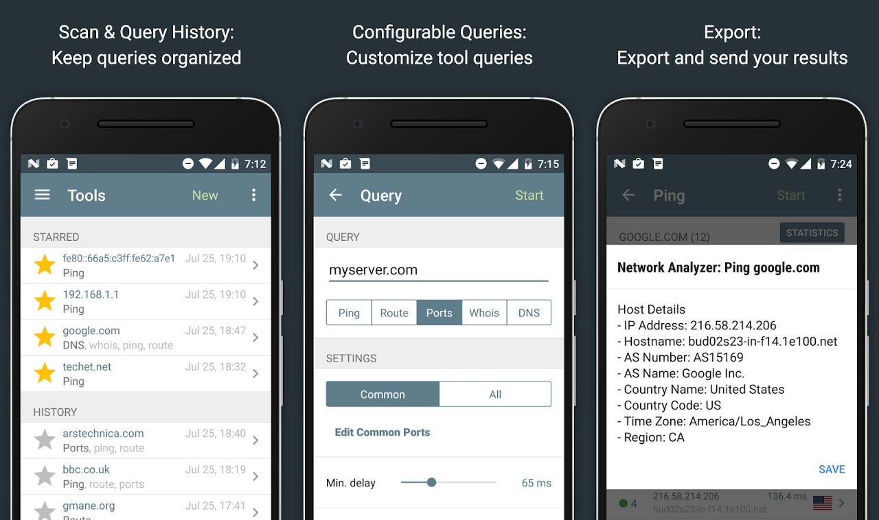 Network Analyzer Pro 2.1 Screen 10