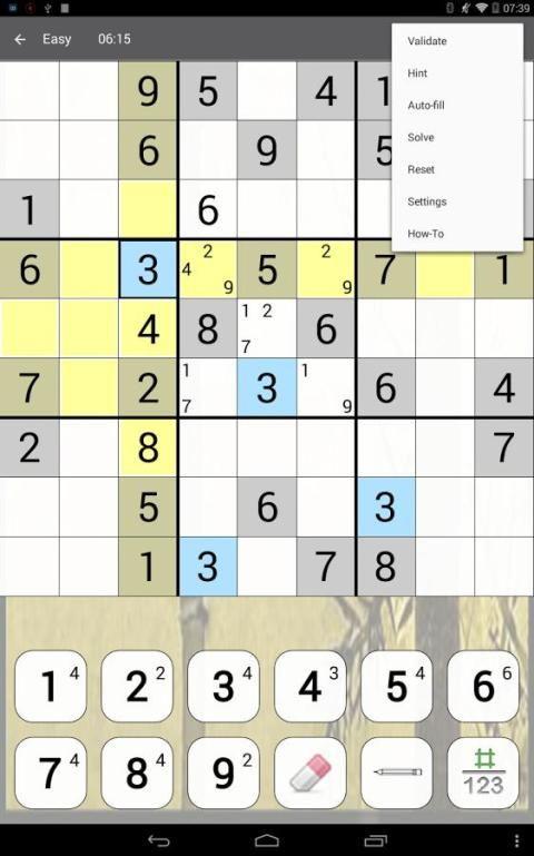 Sudoku 10.2.5.g Screen 10