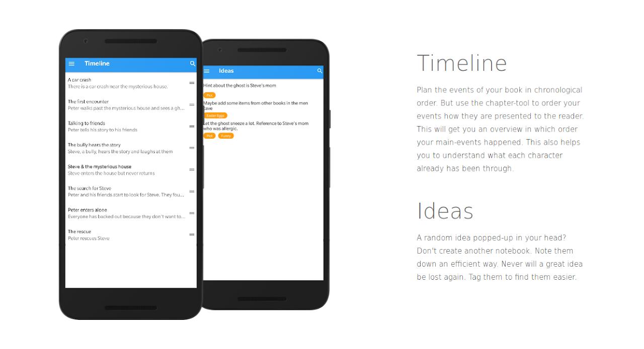 Writer Tools - Novel Planner, Tracker & Editor 2.8.1 Screen 4