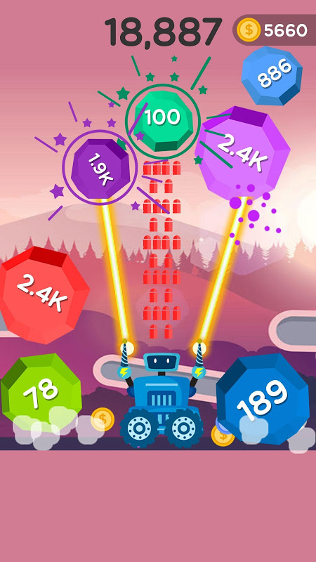 Android Ball Blast - Jump ball Screen 1