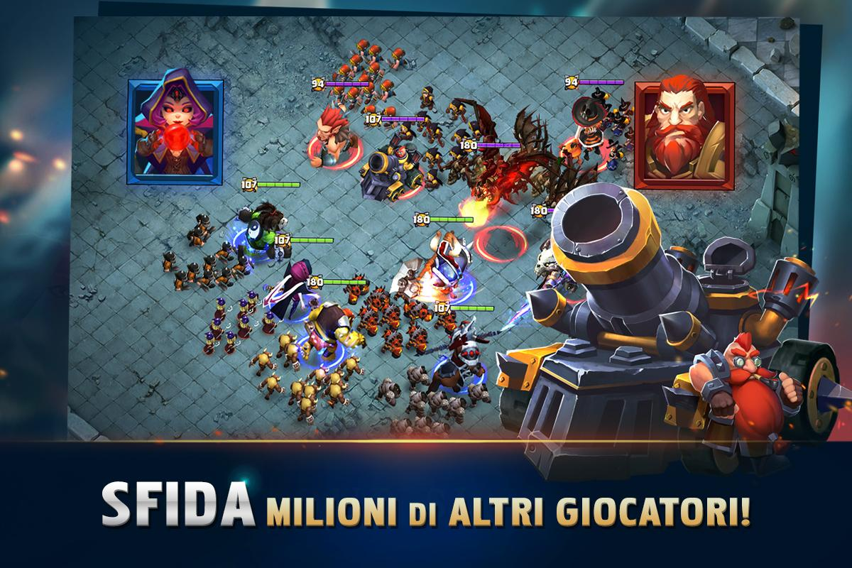 Clash of Lords 2: Italiano 1.0.163 Screen 3