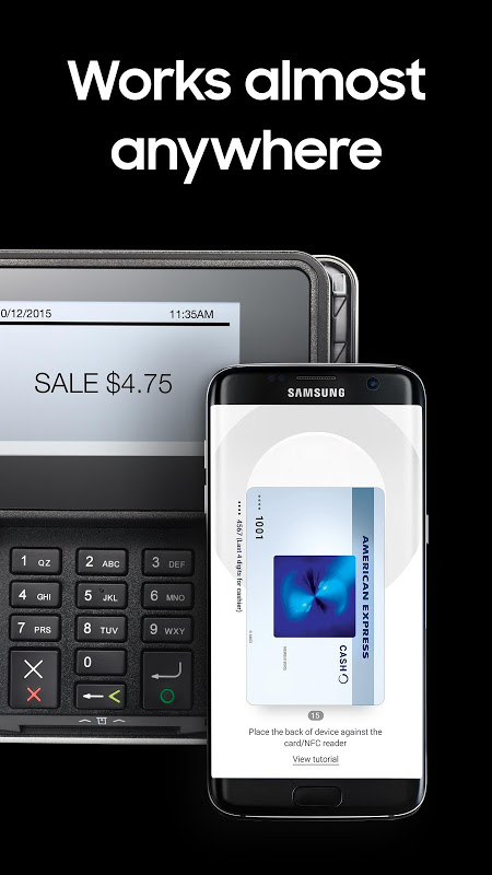 Samsung Pay 2.7.18 Screen 1