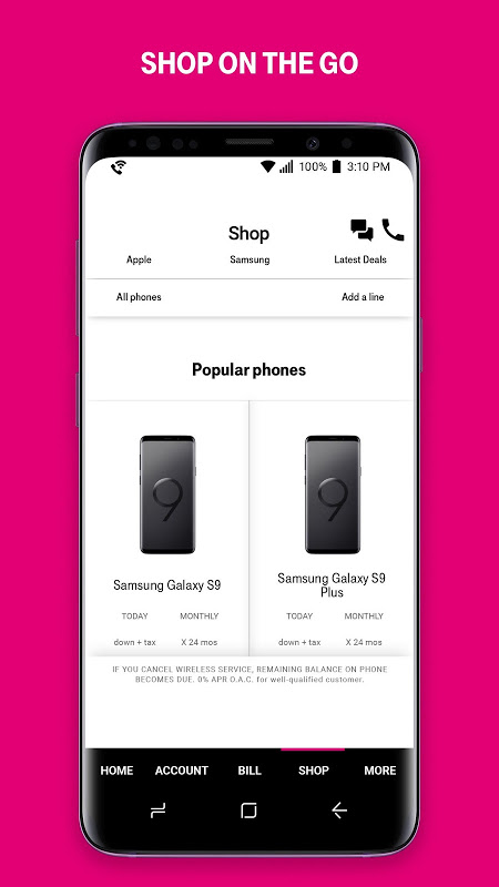 T-Mobile 6.6.2.16 Screen 3