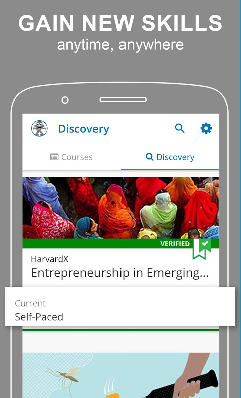 edX - Online Courses by Harvard, Oxford, & more 2.15.2 Screen 2