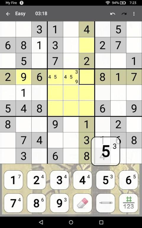 Sudoku 10.2.5.g Screen 13