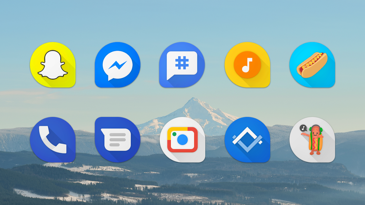 Pixeldrop - Icon Pack 6.5 Screen 1