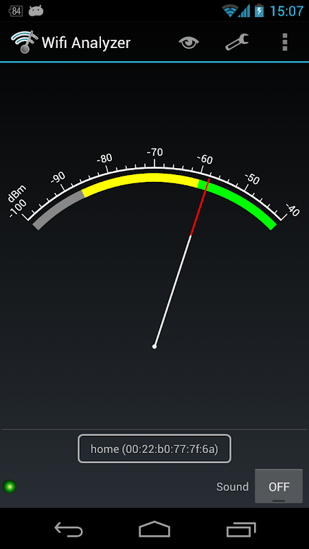 Wifi Analyzer 3.1.2 Screen 9