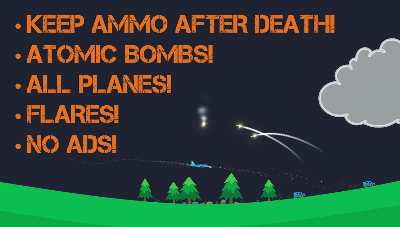 Android Atomic Fighter Bomber Pro Screen 5