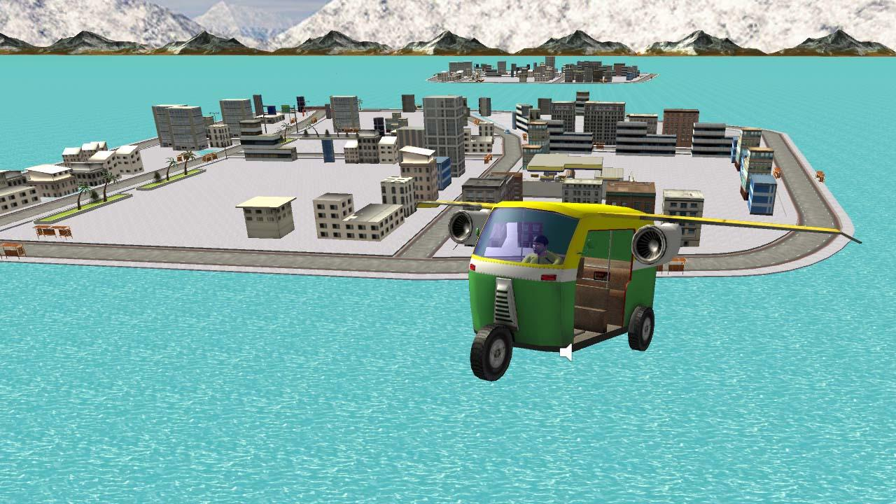 Flying Auto Rickshaw 1.0 Screen 1