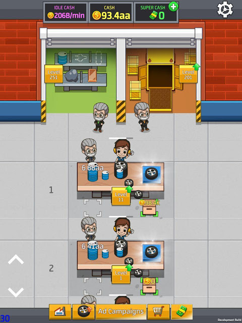 Idle Factory Tycoon 1.2.1 Screen 4