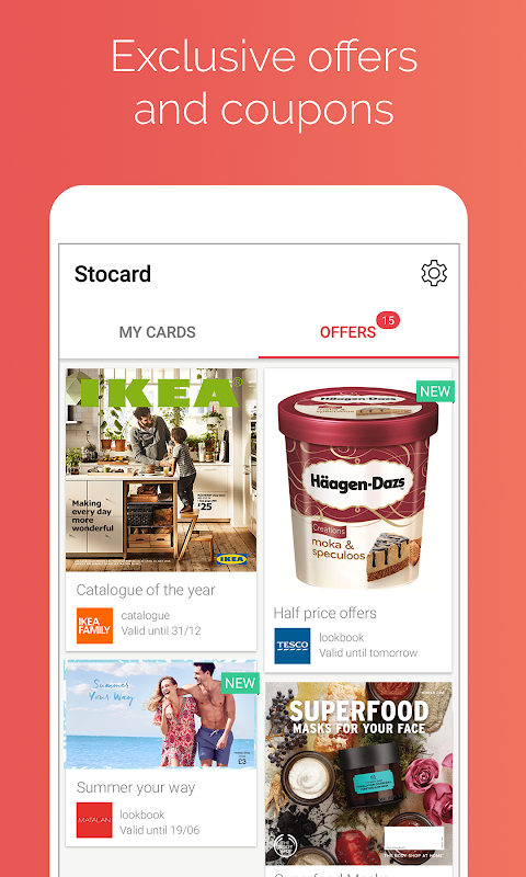 Android Stocard - Loyalty Cards Wallet Screen 3