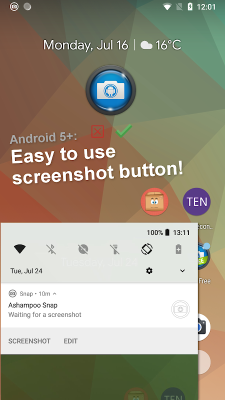 Android Screenshot Snap Screen 11