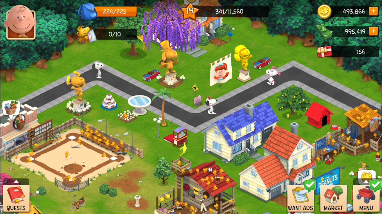 Snoopy's Town Tale - City Building Simulator 3.3.9 Screen 7